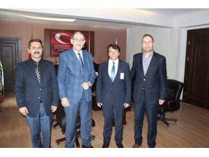 Türk Sağlık'den Emniyet Müdürü Kalayoğlu'na Ziyaret