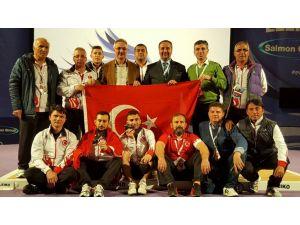 Haltercilerden Avrupa Şampiyonası'nda 4 madalya daha