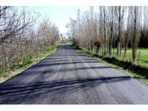 Dilek Mahallesi'nin Yolları Yapılıyor
