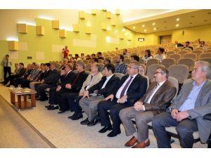 Harran Üniversitesinde Bilimde Başarının Sırları Konferansı
