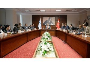 Ortadoğulu Gazetecilerden Yurtdışı Türkler Ve Akraba Topluluklar Başkanlığı'na Ziyaret