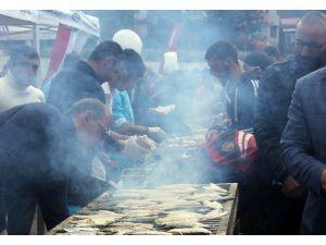 """Denizi Olmayan Erzurum'da """"Balık Şenliği"""" Düzenlendi"""