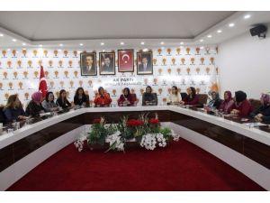 AK Parti Kadın Kollarına Seminer