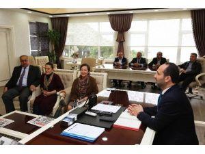 Ünye Kent Konseyi'nden Başkan Çamyar'a Teşekkür Ziyareti