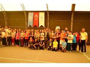 Bartın'da Tenis Müsabakaları Sona Erdi