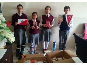Konya Polisinden Adilcevaz'daki Öğrencilere Kitap