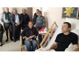 Başkan Demiralp, Muhtarlar Derneği Başkanını Ziyaret Etti