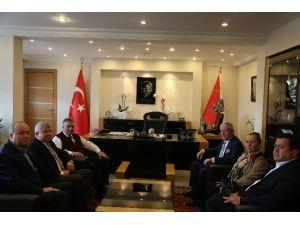 ETSO Heyeti, İl Emniyet Müdürü Erdoğan'ı Ziyaret Etti