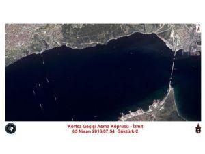 Hava Kuvvetleri Komutanlığı, İzmit Körfez Köprüsünün Havadan Fotoğrafını Paylaştı