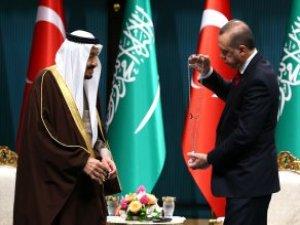 Cumhurbaşkanı Erdoğan'dan Kral Selman'a Devlet Nişanı
