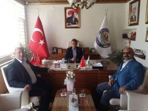 Kızılay'dan Özkonak Belediye Başkanı Yürekli'ye Ziyaret