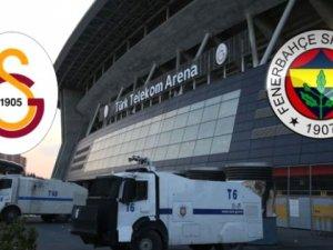 Bugün Türk Telekom Arena Çevresinde Bazı Yollar Trafiğe Kapatılacak