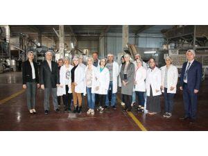 GAÜN'lü Öğrencilerden Gıda Fabrikasına Teknik Gezi