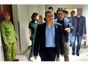 Bucak Devlet Hastanesi'ne Gece Denetimi