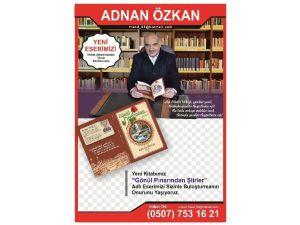 İlesan Van Temsilcisi Özkan Şiir Kitabı Çıkardı