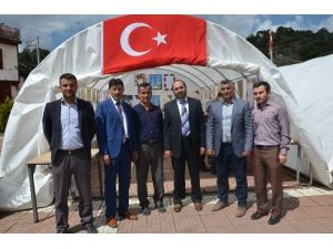 Hanönü'de Muhabbet Çadırı Kuruldu