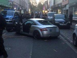 Bozkurt İşaretli Arabaya Saldırının Görüntüleri Ortaya Çıktı