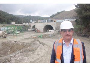 Sürekli: Sabuncubeli Tüneli 2017'de tamamlanacak