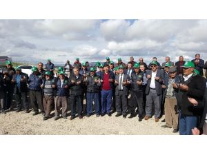 Kayseri Şeker'in Bünyan'da Pancar Ekim Töreni Ekinciler Köyünde Yapıldı