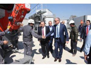 Düzce Belediyesi Asfalt Plenti Tesisi Kurdu