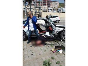 Trafik Kazasında Ağır Yaralanan Şahıs Hayatını Kaybetti