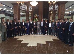 Diyarbakır İş Camiasından Erbil Ticaret Ve Sanayi Odası'na Ziyaret