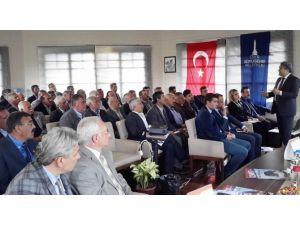 İzmir Büyükşehir Belediyesi'nin Üst Düzey Bürokratları Ödemiş'te