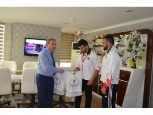 Avrupa Şampiyonları Ghsim'deydi