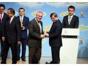 Simurg Projesi'ne Başbakan Davutoğlu'ndan Ödül