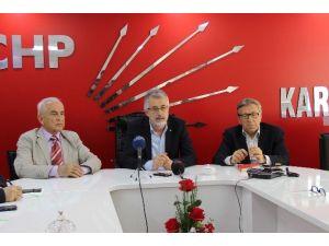 CHP İl Başkanı Dinçel'den Değerlendirme