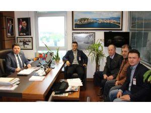 Yazar Çok'tan Milletvekili Tunç'a Ziyaret