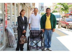 Başkan Karaçoban, Engelli Akkuş'un Dileğini Gerçekleştirdi