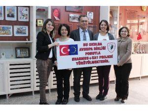 Vali Münir Raif Güney İlkokulu'nda Avrupa Mesaisi Başlıyor