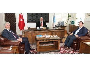Başkan Yazgı İl Müftüsü Bal'ı Ziyaret Etti