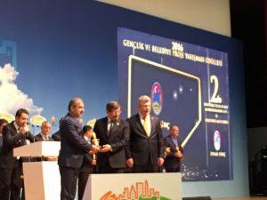 Çankırı Belediyesi, gençlik çalışmalarında Türkiye 2'ncisi