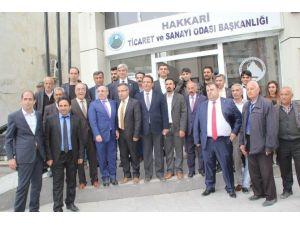 CHP Heyeti Hakkari'den Ayrıldı