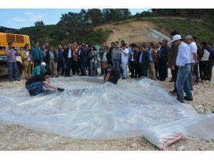 DSİ'den Adrasan Barajında Deney