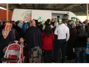 ÇAYED'den yardıma muhtaç vatandaşlara gıda yardımı