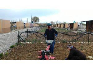 Beyşehir'de Hobi Bahçelerinde Sezon Başladı