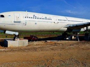 Restoran uçağın montajı tamamlandı
