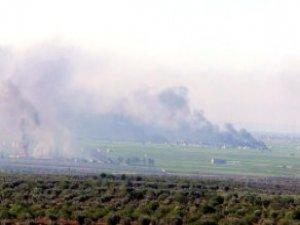 Koalisyon Uçakları Kilis Sınırında IŞİD'i Vuruyor