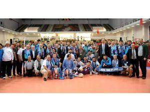Voleybol Erkekler 2. Lig'in şampiyonu; Afyon Belediyespor