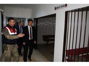 İnsan Hakları Kurulu, Elazığ'daki Nezarethaneleri İnceledi