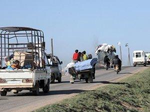 DAEŞ'in ele geçirdiği bölgelerdeki halk göç etmeye başladı