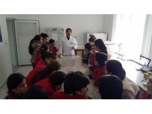Minik Öğrenciler Patates Enstitüsünü Gezdi