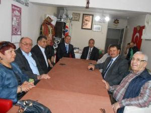 MHP'den Eskişehir Seyyid Battal Gazi Vakfı'na Ziyaret