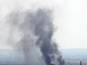 Suriye'nin Türkiye Sınırına Yakın Bölgesinde Çatışmalar Şiddetlendi