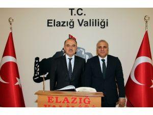 Konya Valisi Erol'dan, Elazığ Valisi'ne Ziyaret