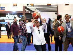 Spor ve Aktif Yaşam Fuarı'nın açılışı yapıldı