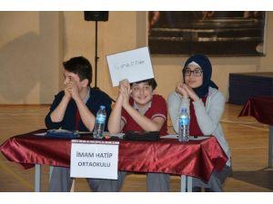 Bafra'da Ortaokullar Arası Bilgi Yarışması